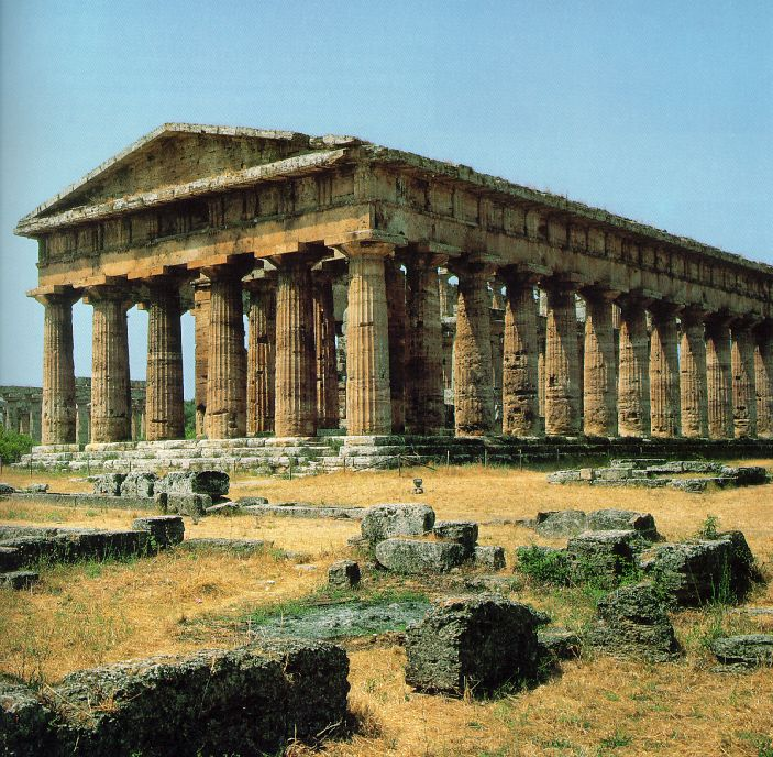 Greek Art: Temple of Poseidon