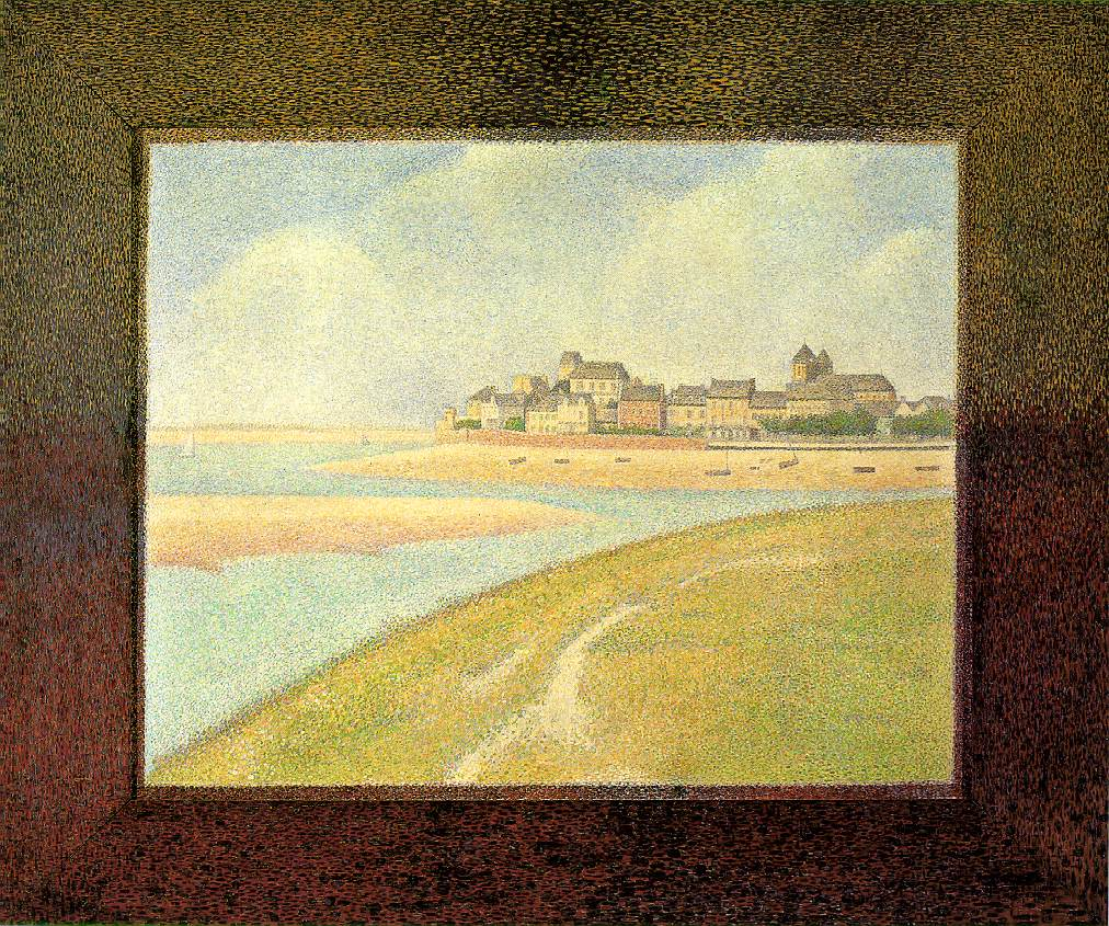 Seurat View Of Le Crotoy From Upstream